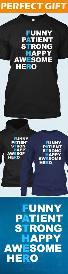 Father Acronym - Limited edition. Order 2 or more for friends/family & save on shipping! Makes a great gift!