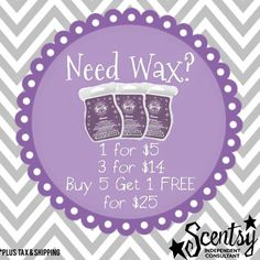 Order today! Buy more save more! www.dontburnmelt.scentsy.us