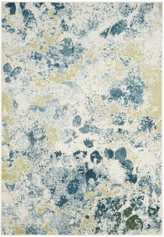 Safavieh Watercolor WTC696B Ivory / Light Blue