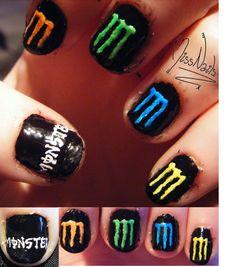 Monster Energy by MissNails.deviantart.com
