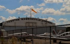 Trenton Robbinsville Airport is used for small planes flying into the Trenton area.  The Airport also offers rentals, flying lessons, gas and hangers for privately owned planes.