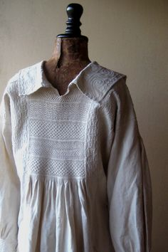 Early 19th century England antique smock