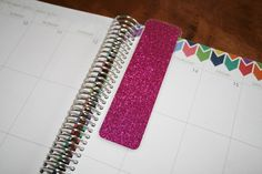 laminated coil clip in bookmarks and dashboards for erin condren life planner, plum paper and limelife. www.trulysimpleplanners.etsy.com