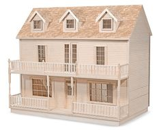 The House That Jack Built - Lisa Kay - Wooden Doll House