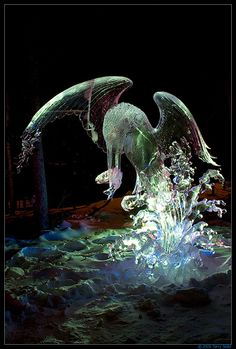 Ice Sculpture From 2009 World Ice Art Championship by Terry Tedor, via Flickr