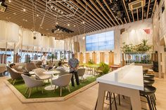 GREEN DISPLAY 株式会社グリーンディスプレイ | PLANTSCAPING | WORKS | EVENTRESTAURANT/CAFE | ネスカフェ原宿