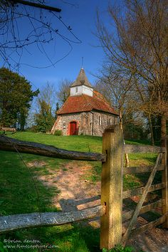 The Church of the Good Shepherd, Lullington, East Sussex, England is believed to be the smallest church in England.