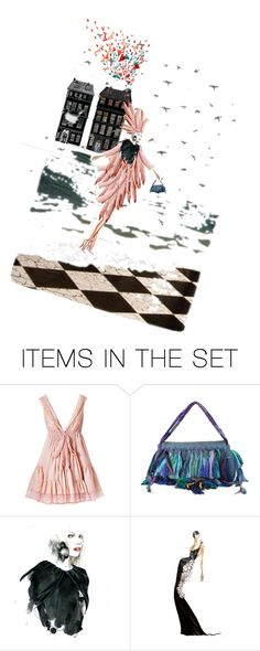 """Lean on me ..."" by diannecollier ❤ liked on Polyvore featuring art"