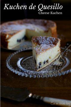 Kuchen de quesillo, receta chilena - En Mi Cocina Hoy
