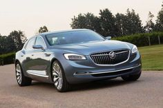 The wraps came off Buick's sleek four-door saloon concept at the 2015 North…