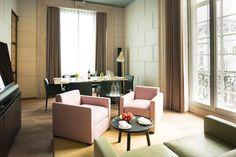 The 10 London Hotels Worth Checking Into #refinery29  http://www.refinery29.com/london-hotels#slide-7  Best Revamp: Café Royal There's just something about a building steeped in history, and this Regent Street luxury hotel has that in spades. Originally opened in 1865 and host to everyone from Oscar Wilde and Winston Churchill to Princess Diana, the space recently reopened with a few modern improvements, including Bang