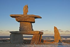 ESKIMO ROCK FORMATIONS THAT LOOK LIKE PEOPLE - Google Search