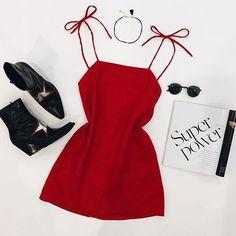 WEBSTA @ vergegirl - Our exclusive Rosé Linen Tie Dress is online today || WWW.VERGEGIRL.COM