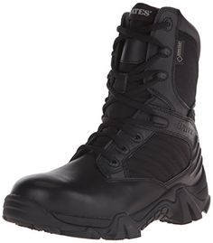 81f46d402851 Bates Womens Gx-8 8 Inch Boot Black 7 M US Steel Toe