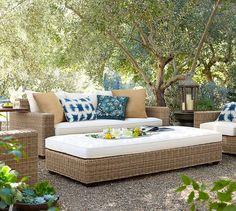 Zuma Starburst Indoor/Outdoor Lumbar Pillow   Pottery Barn