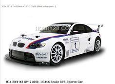 CARISMA 1/14 GT14 2.4G BMW M3 GT-2 2009 (BMW Motorsports )