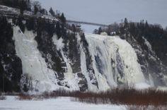 Niagara Falls frozen, Amazing !