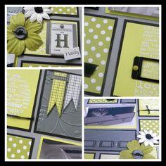 Kit page  mars 2013 : mosaïque de la création de Christine