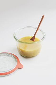 Banana Curd | The Fauxmartha 1 very ripe banana 1 egg yolk 2 tbsp. salted butter 1 tsp. lemon juice 1/4 c. pure cane sugar