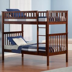 Found it at Wayfair - Woodland Twin Over Twin Standard Bunk Bed