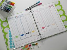2015 Planner I MGPlanner I Full Size and Half Size available. Daily Planner and Weekly Planner available too! I shop.adiligentheart.com