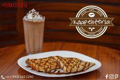 Estos #Waffles están riquísimos!  Acompáñalos con la bebida de tu preferencia con un Café caliente un Frapuccino o hasta un Licuado de frutas.  Servicio a domicilio al: (983) 162 1240  #Promociones #KáapehCOMBO #Desayunos #Káapehtear #Káapehtería #TeHaceElDía #ConsumeLocal #Cafetería #Café #Alimentos #Postres #Pasteles #Panes #Cancún #Chetumal #México