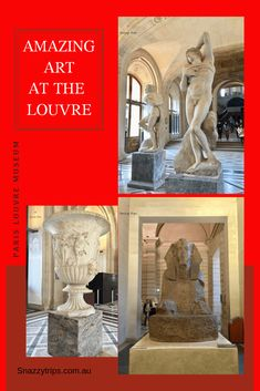 Amazing Art At The Louvre - SNAZZY TRIPS TRAVEL BLOG If you love art, you must see the Louvre | My photo tour | Interesting facts | the oldest piece | the biggest painting. #louvremuseum #louvreparis