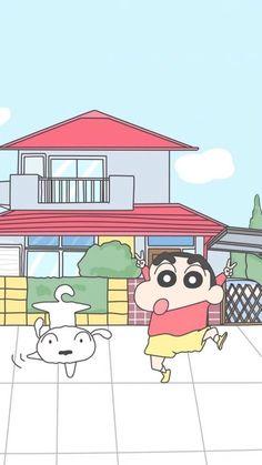 miki * web designer, IT, français, music, book Sinchan Wallpaper, Cartoon Wallpaper Iphone, Cute Cartoon Wallpapers, Lock Screen Wallpaper, Wallpaper Backgrounds, Sinchan Cartoon, Doraemon Cartoon, Cartoon Sketches, Cartoon Characters