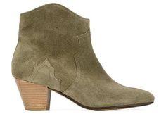 Boots en daim Isabel Marant : http://www.taaora.fr/blog/post/bottines-daim-isabel-marant-talons-effet-bois