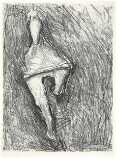 Susan Rothenberg, etching