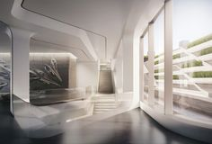 Tour NYC's First Zaha Hadid–Designed Apartments Photos | Architectural Digest