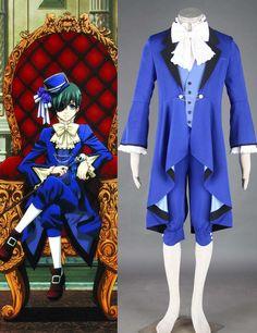 Black Butler Ciel Phantomhive 8-piece Cosplay Costumes #cosplay #costume