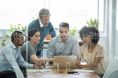 Cropped shot of a group of business colleagues meeting in the. Business, Image, Pictures, Ancestry