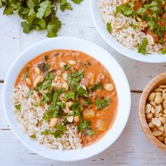 Hearty and rich African peanut soup is incredibly delicious and flavorful! If you haven't had peanut soup before, then try this one, you will be pleasantly suprised! I love this creamy mixture of peanut butter, tomato and spinach!
