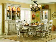 7-pc Summerglen Round/Oval Table Dining Room Set