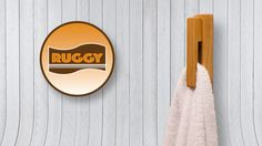 Breaking away from traditions, Ruggy can be placed anywhere and can hold any type of fabric