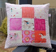 Wee Wander Cushion   Flickr - Photo Sharing!