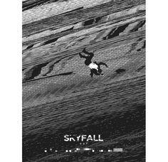 Alternative Movie Poster for Skyfall by Brandon Schaefer