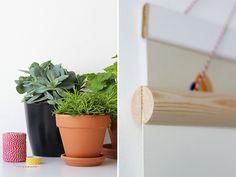 Elske: posterhanger DIY
