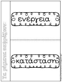 """Πηγαίνω στην Τετάρτη...και τώρα στην Τρίτη: Γλώσσα 1η ενότητα """"Πάλι μαζί!"""": Στοιχεία γραμματικής και σύνταξης - Τα μέρη του λόγου: 20 χρήσιμες συνδέσεις με κάρτες αναφοράς Greek Language, Grammar Worksheets, Interactive Notebooks, Book Activities, Teacher, Math Equations, Education, Learning, School"""
