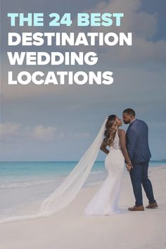 Check out the top 24 destination wedding locations, and learn what makes each unique. Best Destination Wedding Locations, Aloe Vera For Hair, Amazing Destinations, Hands, Wedding Dresses, Unique, Check, Top, Bride Dresses