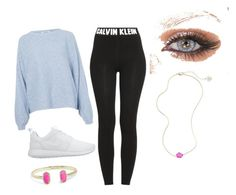 """""""Untitled #79"""" by arbaugh-madison on Polyvore featuring Rodebjer, Calvin Klein, NIKE and Kendra Scott"""