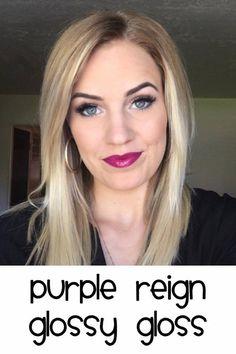 purple reign Lipsense cred: @kissablelipsbykatie