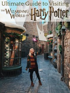 Ultimate Guide to Visiting the Wizarding World of Harry Potter in Los Angeles Hollywood Parc Harry Potter, Parque Do Harry Potter, Harry Potter Universal, Harry Potter Hollywood, Universal Orlando, Universal Studios Outfit, Orlando Florida, Destin Florida, Disney World Vacation