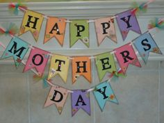 12 Garlands And Paper Decorations For Mother's Day | DigsDigs