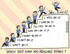 Small steps to the top
