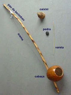 O que é berimbau? A cabaça, arame e um pedaço de pau
