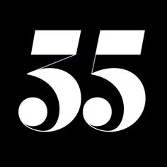 """112 Likes, 2 Comments - Adam Katyi (@hungarumlaut) on Instagram: """"35? 55? 53? 33? 35! Made for @fisedesign's 35th anniversary. Hbd!"""""""