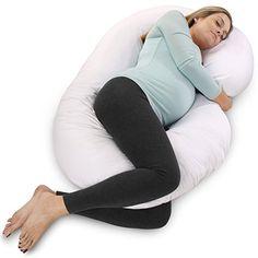 c1a29ca3e7218 PharMeDoc Full Body Pregnancy Pillow - Maternity Pillow for Pregnant Women  - C Shaped Body Pillow