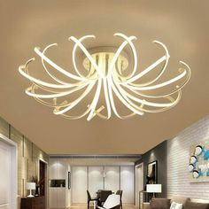 Lights & Lighting Radient Modern Ceiling Lamp Led Ceiling Lights For Living Room Bedroom Luminaria De Teto Home Light Fixtures Plafonnier Lampara Techo Ceiling Lights & Fans